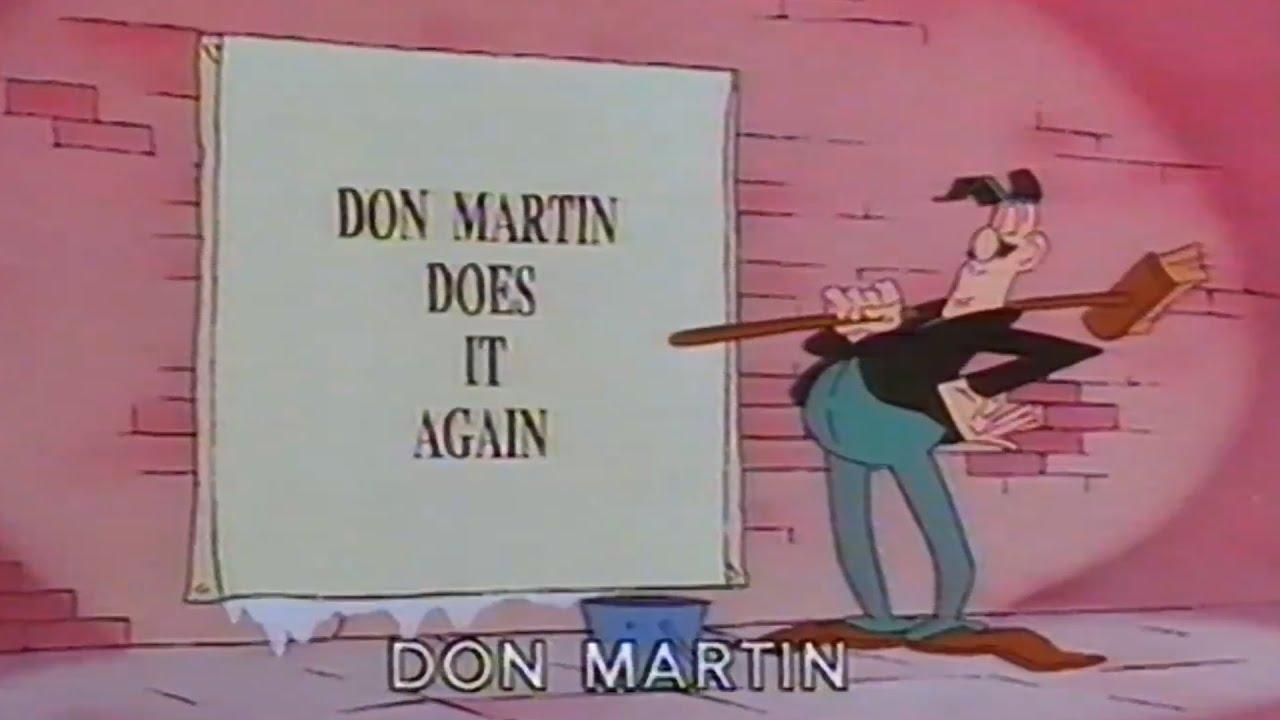 Don Martin Cartoon Intro