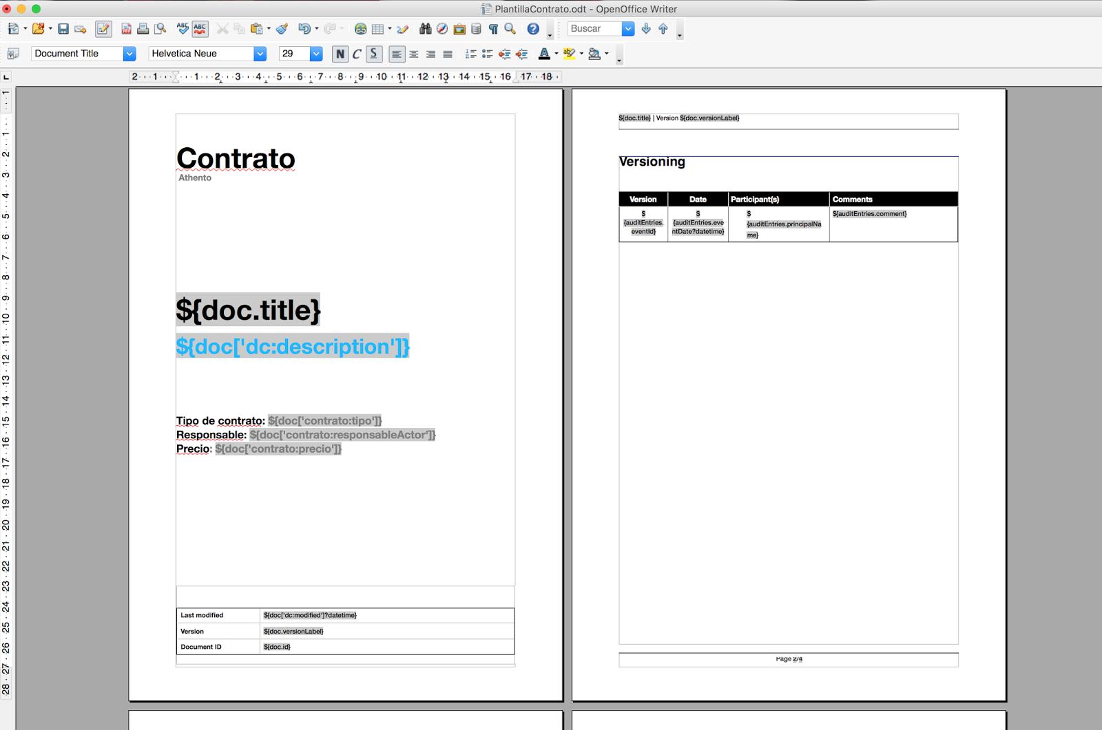 Cómo generar un documento desde el gestor documental mapeando ...