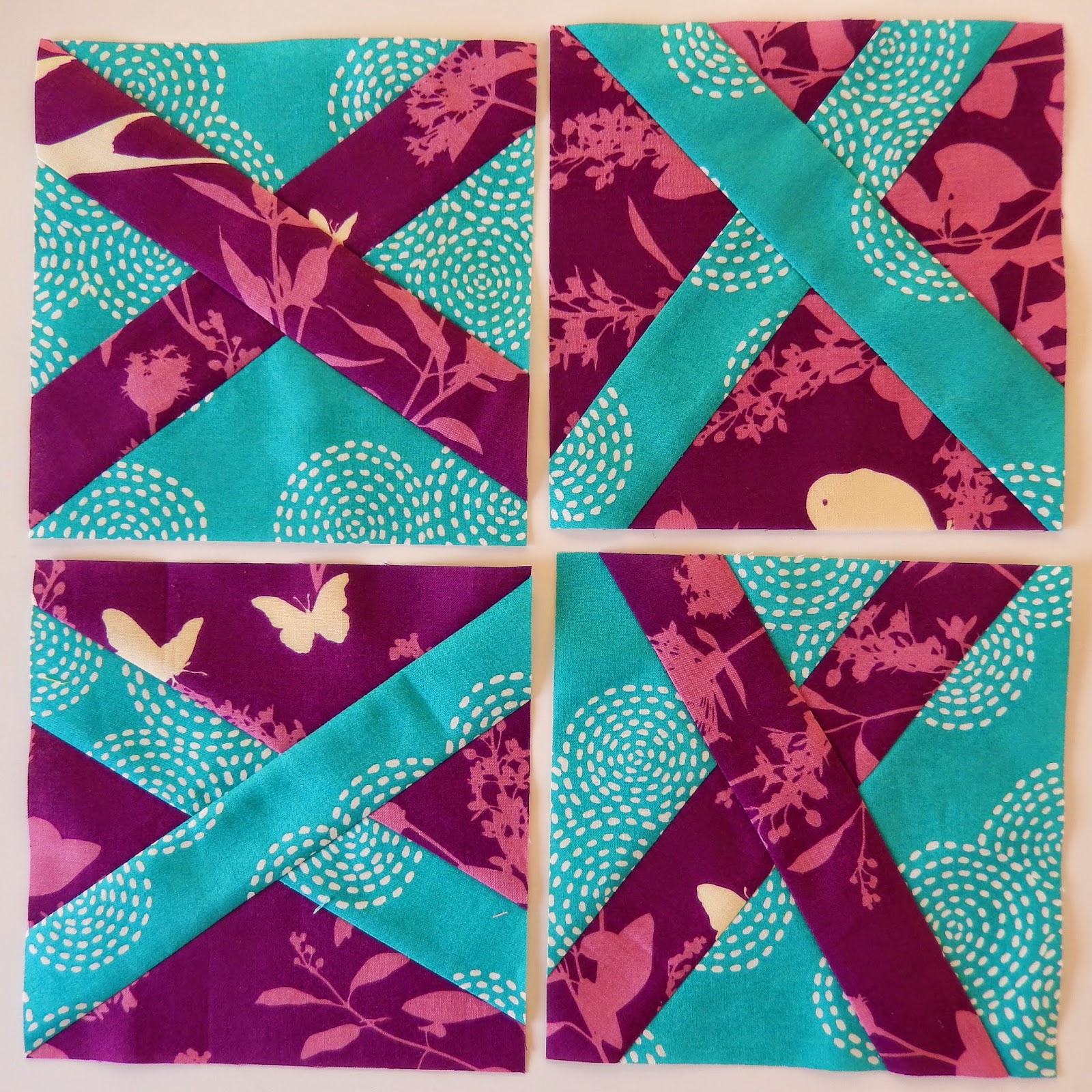Improv Wonky X for Hope Circle of do. Good Stitches December @ Quilting Mod