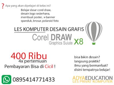 kursus desain grafis corel draw di bogor agustus 2020