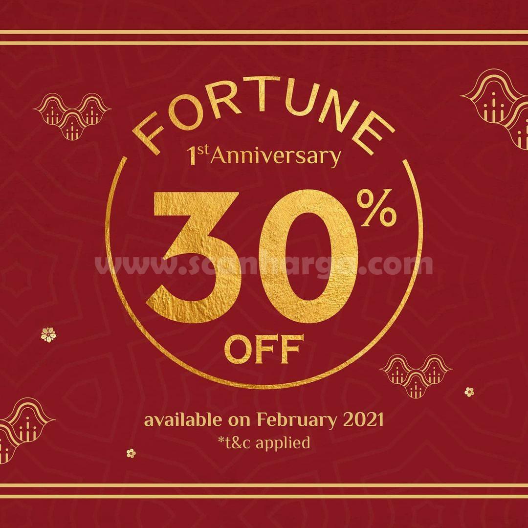 Promo DIMSUMGO! Fourtune 1st Anniversary Discount 30% Off
