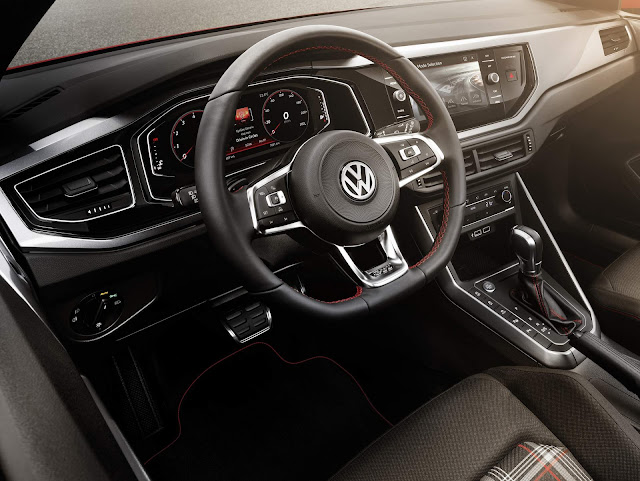 Novo VW Polo 2018 GTI - interior