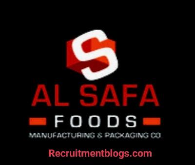 QA Specialist At Al Safa foods