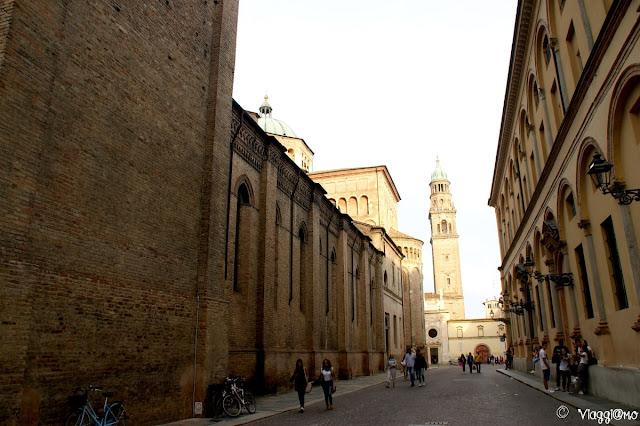 Via del centro storico di Parma