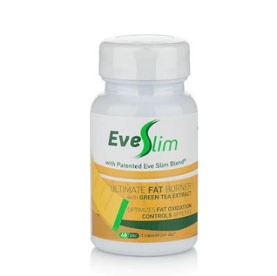 Хранителна добавка за отслабване EveSlim Green Tea, 48 капсули