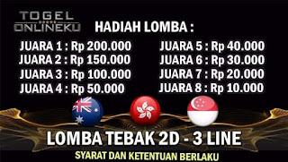 EVENTS LOMBA TEBAK 2D - 3 LINE
