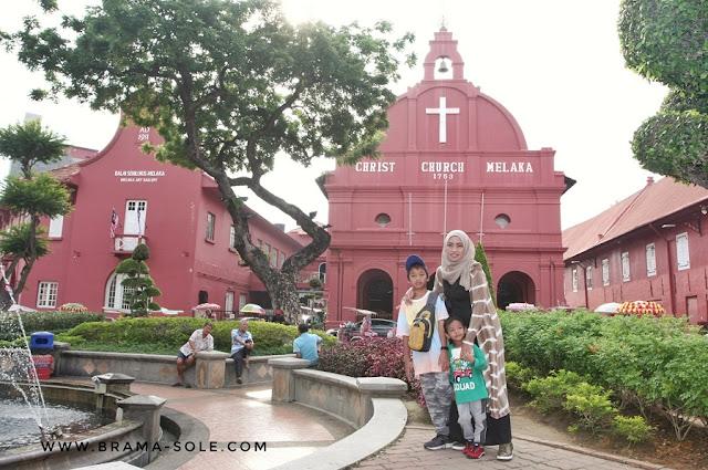 Stadyhuis atau Bangunan Merah di Melaka