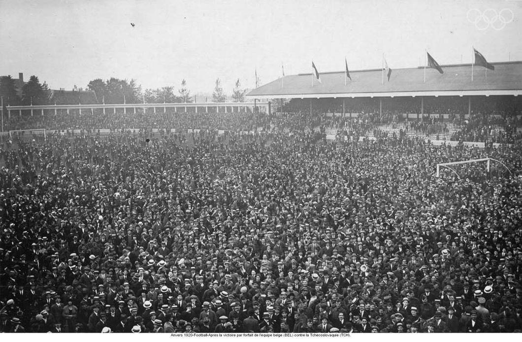 storia olimpiadi 1920 stadio anversa
