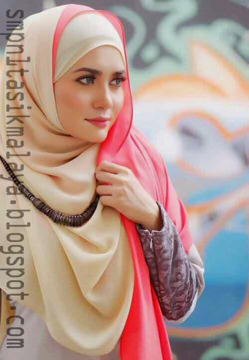 Model Jilbab Sederhana Trend Terbaru Tahun Ini