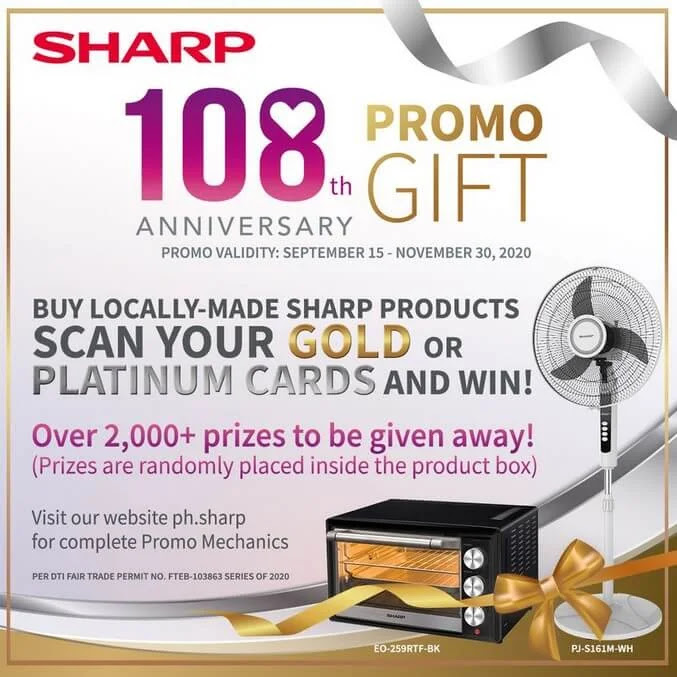 Sharp Celebrates 108th Year with New Home Products