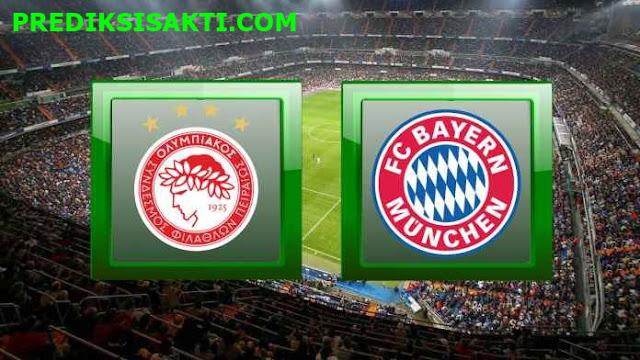 Prediksi Bola Olympiacos vs FC Bayern Munchen 23 Oktober 2019 Lihat Statisnya !
