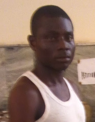 28-Yrs Old Graduate Who Stole Phone In A Church In Lagos, Caught While Trying To Sell It (Photo)