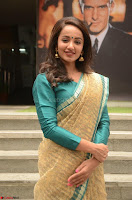 Tejaswi Madivada looks super cute in Saree at V care fund raising event COLORS ~  Exclusive 074.JPG