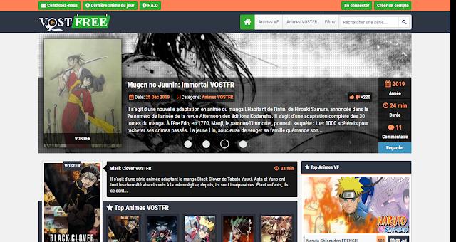 Vostfree – Animes VF et VOSTFR en Streaming gratuit