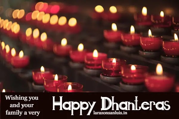 Dhanteras Wishes Images in Hindi