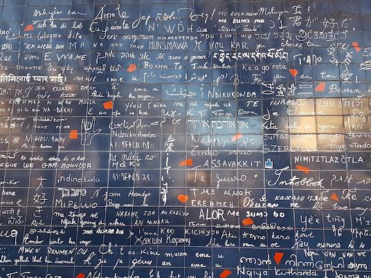 """Pigalle : Le mur des """"Je t'aime"""""""