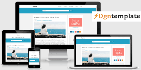 Ripple Clean Blogger Template | Professional Theme