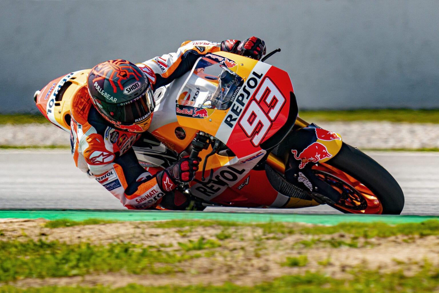 Hampir setahun absen, Marc Marquez akan kembali membalap di seri Portugal !