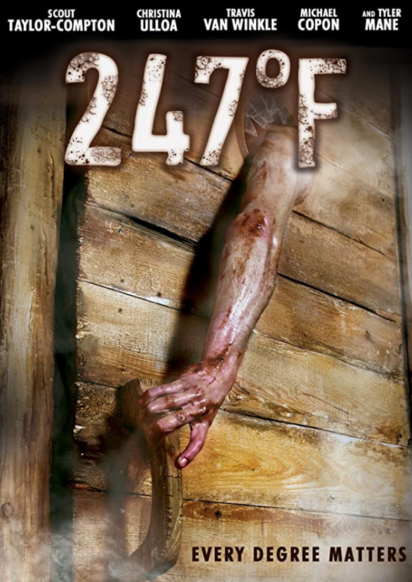 247°F, Horror, Movie Review by Rawlins, Rawlins GLAM, Rawlins Lifestyle, Horror, Sauna, Based on true event