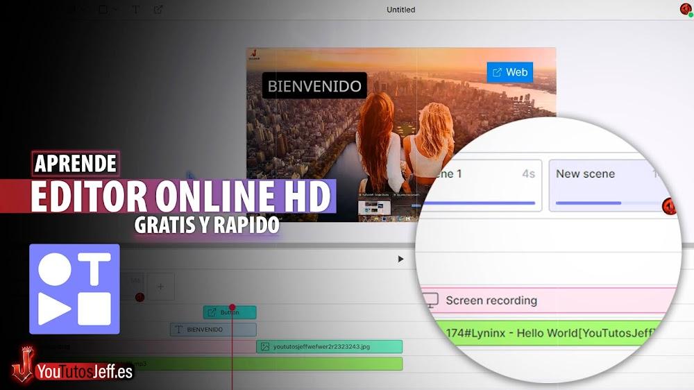 El Mejor Editor de Vídeos Online HD