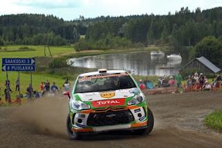 Simone Tempestini si Giovanni Bernacchini - Raliul Finlandei - JUNIOR WRC