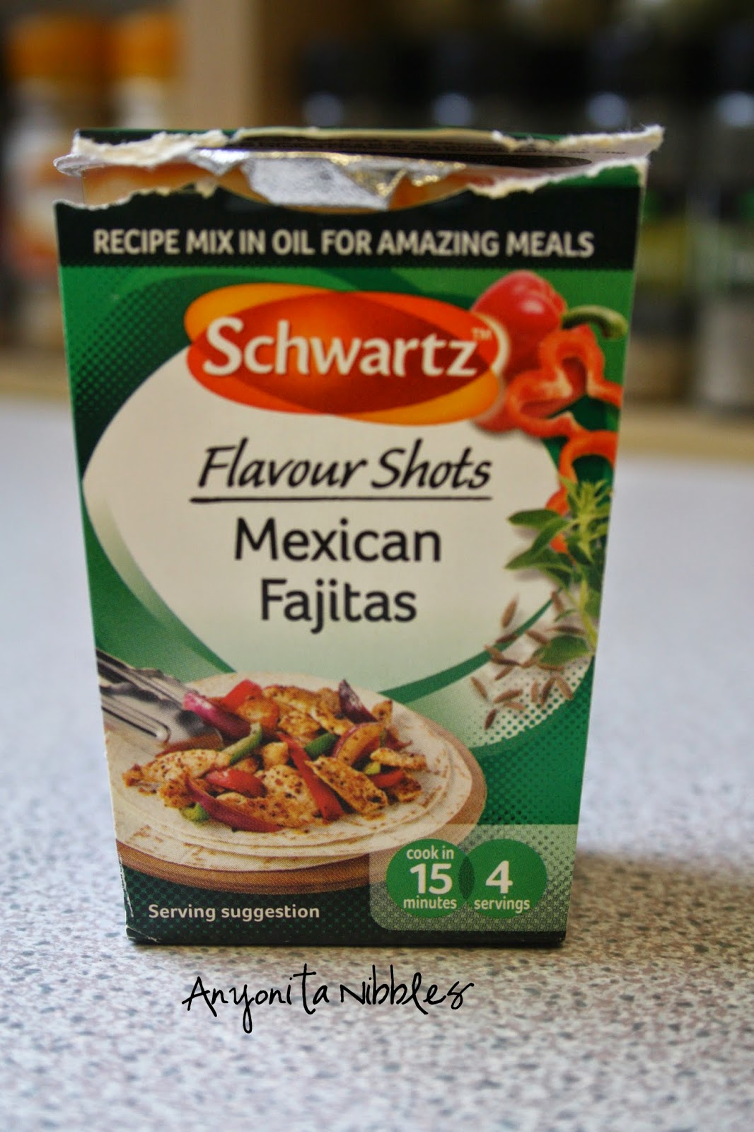 Use this Flavour Shots to make an incredible Mexican dinner