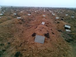 Кладбище боевиков в Ростове