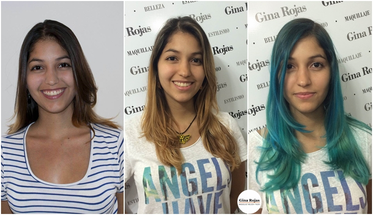 Cómo alcanzar el pelo azul