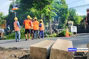 7 Titik Trotoar Mulai Dibangun Di Ruas Jalan Utama Bojonegoro