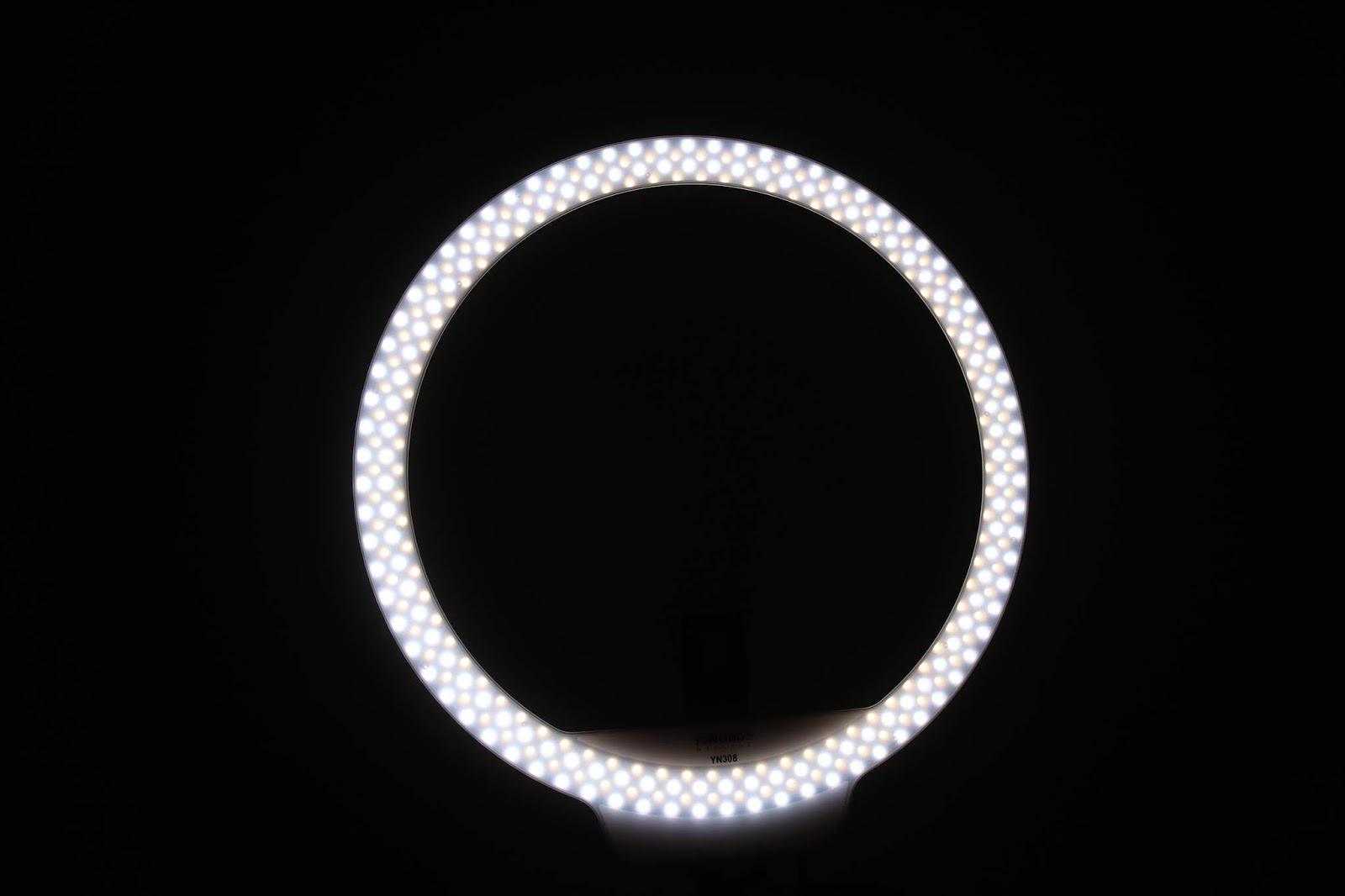 Recenzja lampa pierścieniowa Yongnuo YN-308 Ring