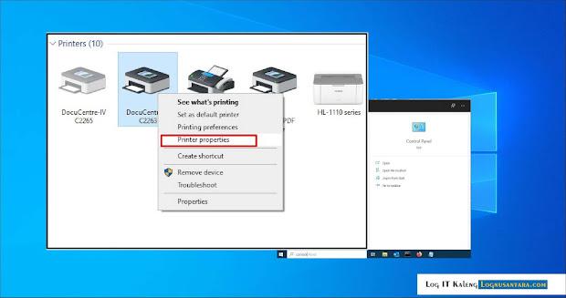 Cara Test Print Halaman di Printer Pada Windows 10