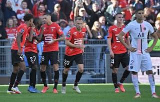 Rennes vs PSG: Messi và cộng sự thua 0-2