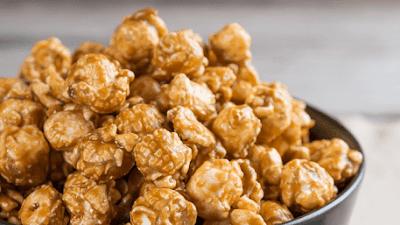 Nikmati Akhir Pekan dengan Popcorn Roti Karamel