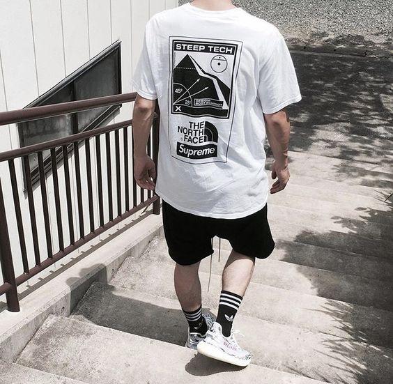 meias masculinas cano longo look