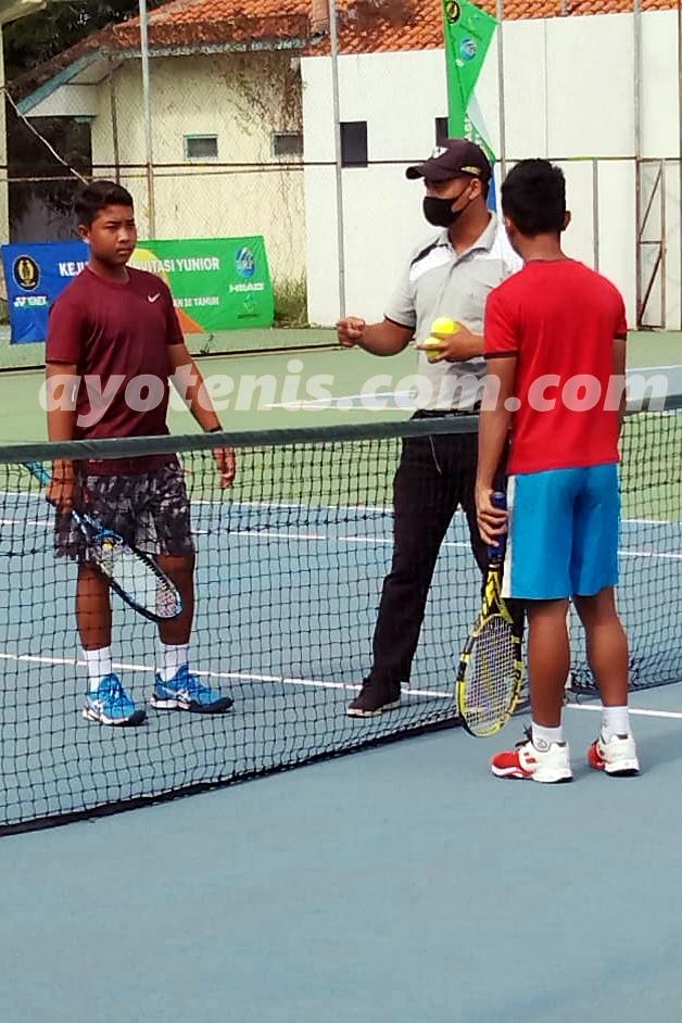 Inilah Kampiun Kejuaraan Invitasi Tenis Yunior PP PELTI Kelompok Umur 14 dan 16 Tahun Putra