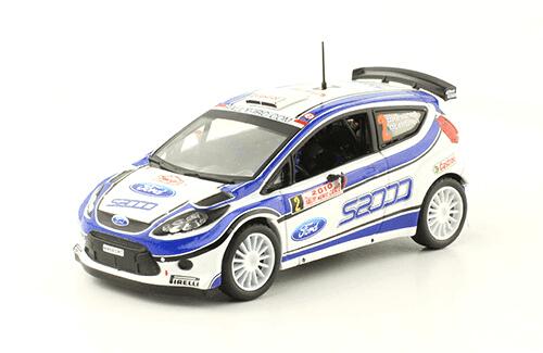 collezione rally monte carlo Ford Fiesta s2000 2010 Hirvonen - Lehtinen