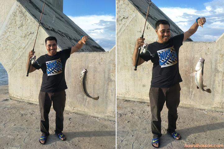 Siakap 2 Kilo Jambatan Bainun Lumut Perak