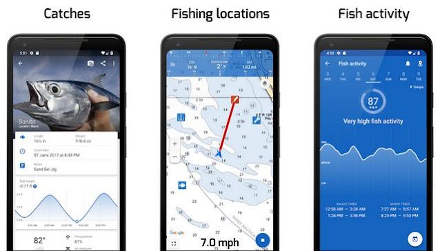 برنامج تحديد مواقع صيد السمك