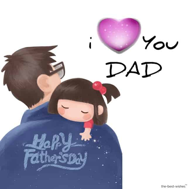 message for father from daughter