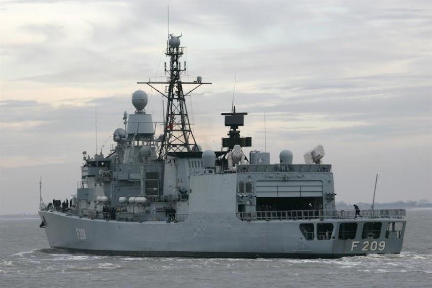 Η Τουρκία εμπόδισε τον έλεγχο ύποπτου τουρκικού πλοίου από γερμανική φρεγάτα