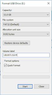 how to make a ubuntu usb