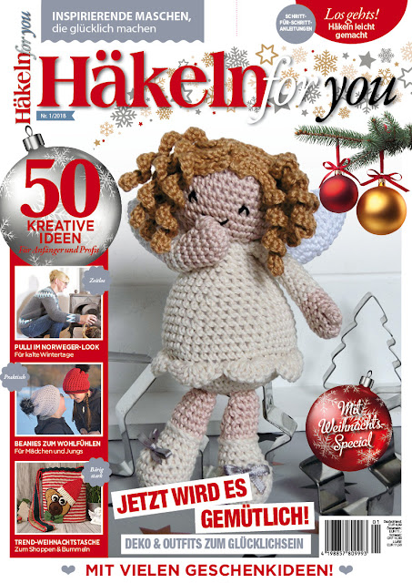 Cover Häkeln for you Ausgabe 1/2018