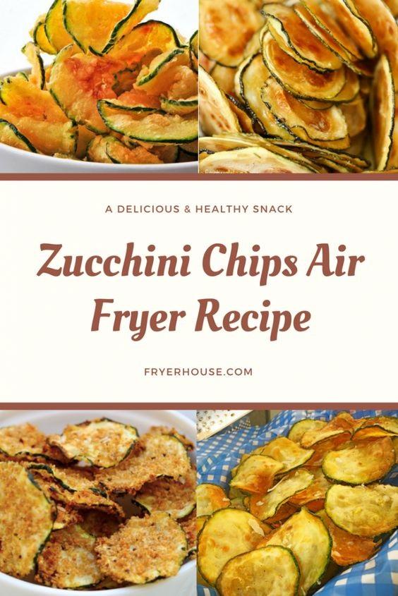 Zucchini Chips Air Fryer Recipe