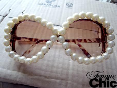 gafas, sol, tunear, óptica, customizar, perlas, accesorios, manualidades