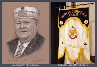 Greg Knott, 33°. Valley of Danville, Illinois. Scottish Rite, NMJ. by Travis Simpkins