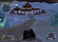 Imagem game play do jogo twisted metal 3 PS1 1998 iso jogo