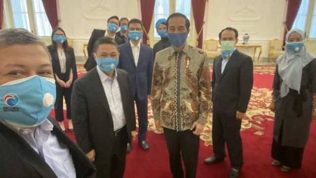 Usai Bertemu Purnomo, Jokowi Sempat Jamu Elite Gelora dan PAN