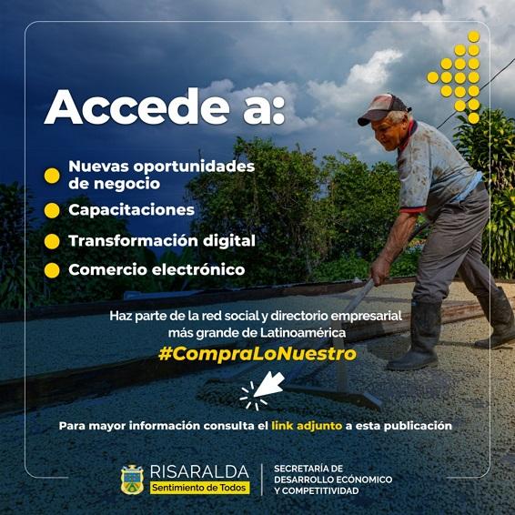 Micronegocios de Risaralda podrán ser parte del directorio empresarial más grande de América Latina