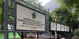 Daftar Alamat dan Nomor Telepon Kantor urusan Agama - KUA di Seluruh Jakarta