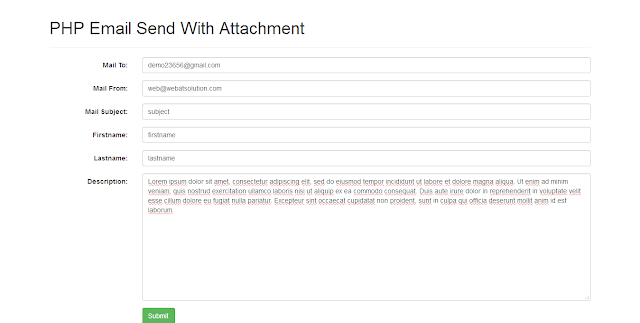PHP Email- Create PDF And Send With Attachment